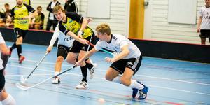 Oskar Backlunds Surahammars IBF gick på en mina mot Uppsala.