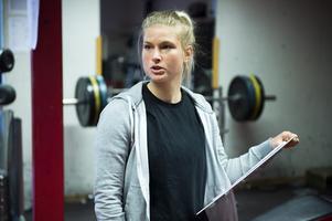 Sandra Nordenberg, fystränare i Timrå IK.