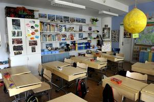 För 30 år sedan kommunaliserades skolan. Foto: Janerik Henriksson/TT
