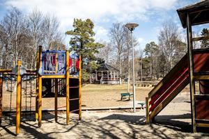 Socialnämndens tycker att alkoholservering på Café Björkbacka vore olämpligt med hänsyn till att parken och lekplatsen intill nyttjas av många barnfamiljer och förskolor.