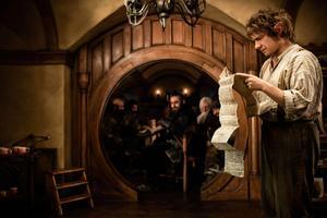 Martin Freeman spelar Bilbo Bagger i