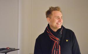 Daniel Welin, vd och ägare av Strömpis