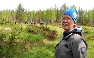 Kristin Lindström, naturvårdshandläggare på Länsstyrelsen Västernorrland, hoppades att dagen skulle bidra till ett fortsatt givande samarbete med privata intressenter i området.