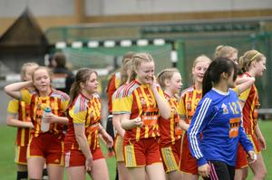 Avslappnad glädje bland tjejerna i norska Rapp/Freidig.