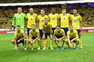 Sveriges startelva mot Norge innehöll ingen Marcus Berg. Bild: Fredrik Sandberg/TT.