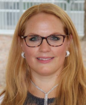 Pernilla Bellman, ordförande i Lärarförbundet i Fagersta kommun. Foto: Privat