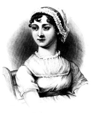 Den enda bild som finns av Jane Austen är en porträtteckning av hennes syster Cassandra, som sedan i sin tur tolkats.