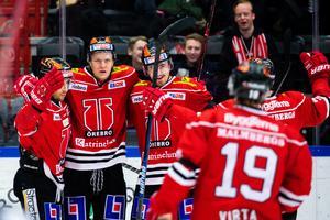 Rodrigo Abols blev målskytt för Örebr. Bild: Johan Bernström/Bildbyrån