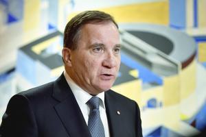Statsminister Stefan Löfvens socialdemokrater nådde 27,6 procent i veckans SCB-mätning. Foto: Naina Helén Jåma/TT