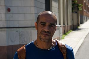 Hicham Lagueouiair, 39 år, snickare, Sundsvall: