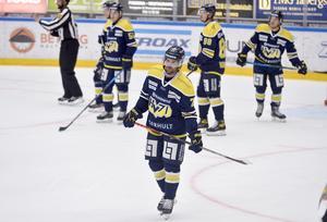 Linus Fröbergs HV71 öste in mål i träningsmatchen mot Djurgården.