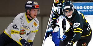 Joakim Bergman och Lukas Mårdberg stannar i Falun. Bild: Arkiv