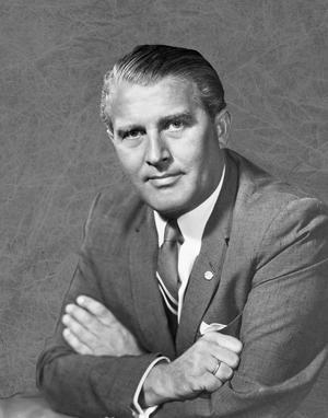 Den tyske raketforskaren Wernher von Braun 1960. Foto: NASA