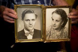 Sören och Ann-Marie Sjödin i ungdomens dagar.