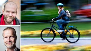 Lars Strömgren, ordförande Svensk Cykling och Klas Elm, vd Svensk Cykling skriver om fördelarna med att låta barnen cykla till skolan.