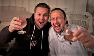 Andreas Arvidsson och Krister Dolk har skapat systemet bakom storvinsten.