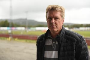 Dan Henriksson från Stugun i Jämtland hade även han trotsat vädret och farit till Solänget.