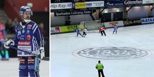 Situationen med Martin Johansson och Tuomas Määttä är inte anmäld till disciplinnämnden.