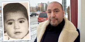 Andreas stals när han var ett år.