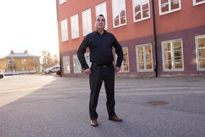 Parahat Iklym hoppas kunna starta eget som fiskodlare i Hofors.