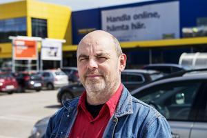 Stefan Alm, 56 år, jobbar på Willys, Njurunda: