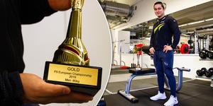 Mohsen Rahimi vann ett EM-guld i fitness.