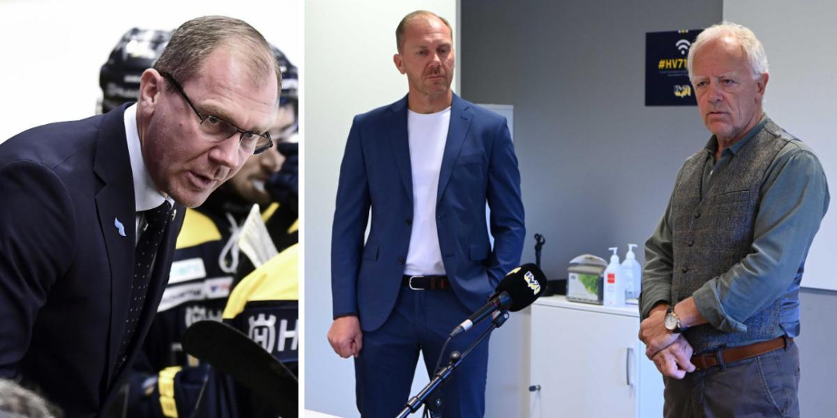 """Klart: Han blir HV71:s nya klubbdirektör • """"Hjärtat klappar för HV71"""""""
