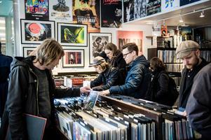 Det ökade intresset för vinylskivor har medfört att rariteter har blivit värdefulla.Bild: Marc Femenia / TT