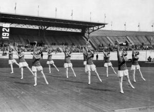 Amsterdam 1928, ett OS som präglas av bland annat italiensk gymnastik och svenska spjutframgångar.
