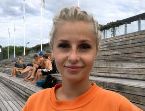 Frida Westman, 22 år, badvärd, Sundsvall