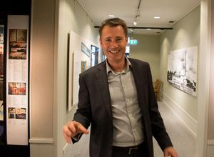 Länsmuseichefen Christer Björklund.