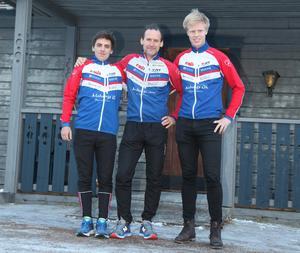 Från vänster: Manuel Horta, Klas Dahlberg , Oskar Lundqvist