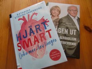 Två böcker som rekommenderas.