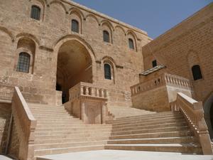 Deir Zafaran i Tur Abdin är det äldsta klostret i världen. Foto: Nevit Dilmen