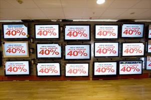 Reklam motverkar våra strävanden att bygga ett hållbart samhälle. Foto: TT