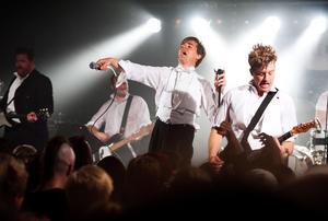 The Hives vid en av sina konserter. Foto: Klockar Mattias Nääs/Arkiv