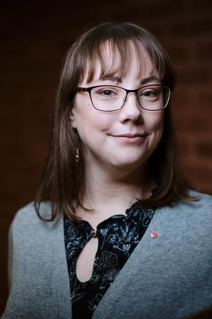 Ingrid Markström (S), 29 år, Norrtälje. Kommunstyrelsen, Utbildningsnämnden.