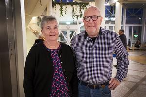 Sundsvallsparet Eva och Ivar Johansson såg fram emot en trevlig kväll.