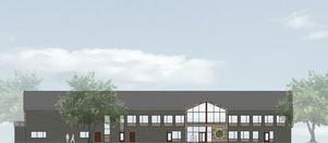 HSB bygger nytt kontor. Illustration: Falugruppen
