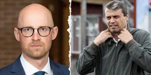 Åklagare Niklas Jeppsson (till vänster). Arkivbilder.