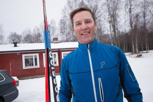 David Svedberg satsar mot att klara Vasaloppet 2018 på medaljtid, strax under sex timmar.