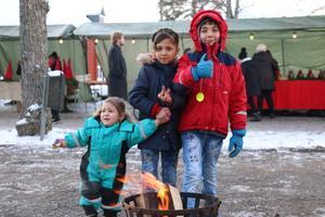 Syskonen Aldugaim hade, med sina föräldrar, åkt från Hällefors för att se vad marknaden hade att erbjuda.