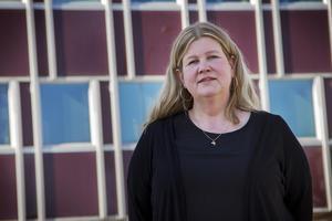 Anna-Lena Vestin (V), oppositionsråd i Bollnäs. Arkivfoto