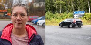 Anna Edwertz från Sörbo reagerade på de höga hastigheterna förbi Söderbärkekorsningen och föreslog en sänkning till 70 kilometer i timmen. Nu säger Länsstyrelsen nej till förslaget. Beslutet kan inte överklagas.