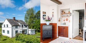 Huset i Lockåsen är byggt 1935 och har en boyta på 146 kvm.  Bild: Länsförsäkringar Fastighetsförmedling