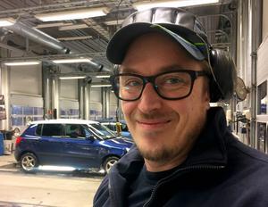 Jonnie Widenbladh, 41 år, V70-ägare och besiktningstekniker, Indal