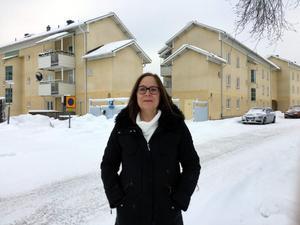 Foto: Hedda Renholm. Kajsa Fredholm från Leksand är ny ersättare i Vänsterpartiets partistyrelse.