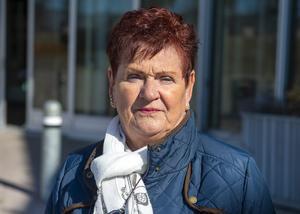 Ann-Christin Bylund, 69 år, pensionär, Söråker