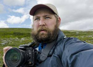 Naturfotograf Björn Dahlfors. Foto: Björn Dahlfors