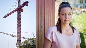 Byggtakten har ökat i Gävle – men bostäderna räcker ändå inte åt alla. Bild: Madelene Linderstam/Emma Åhman.